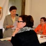 Vilkkaasti keskusteleva piirikokous Raahessa